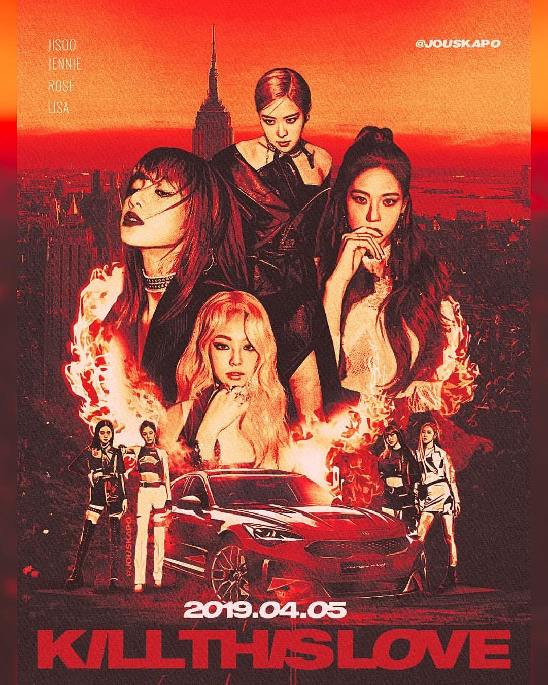 Blackpink Poster 2019