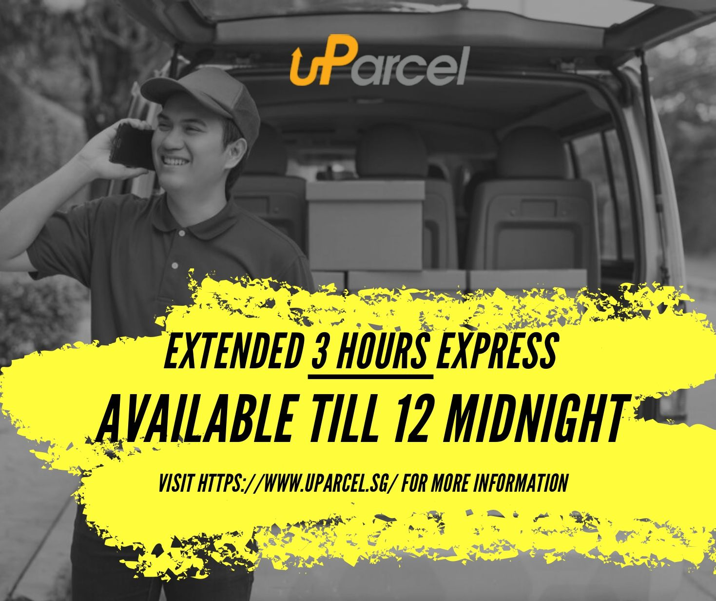 uParcel extends its 3 hours ExpressCourier Service to