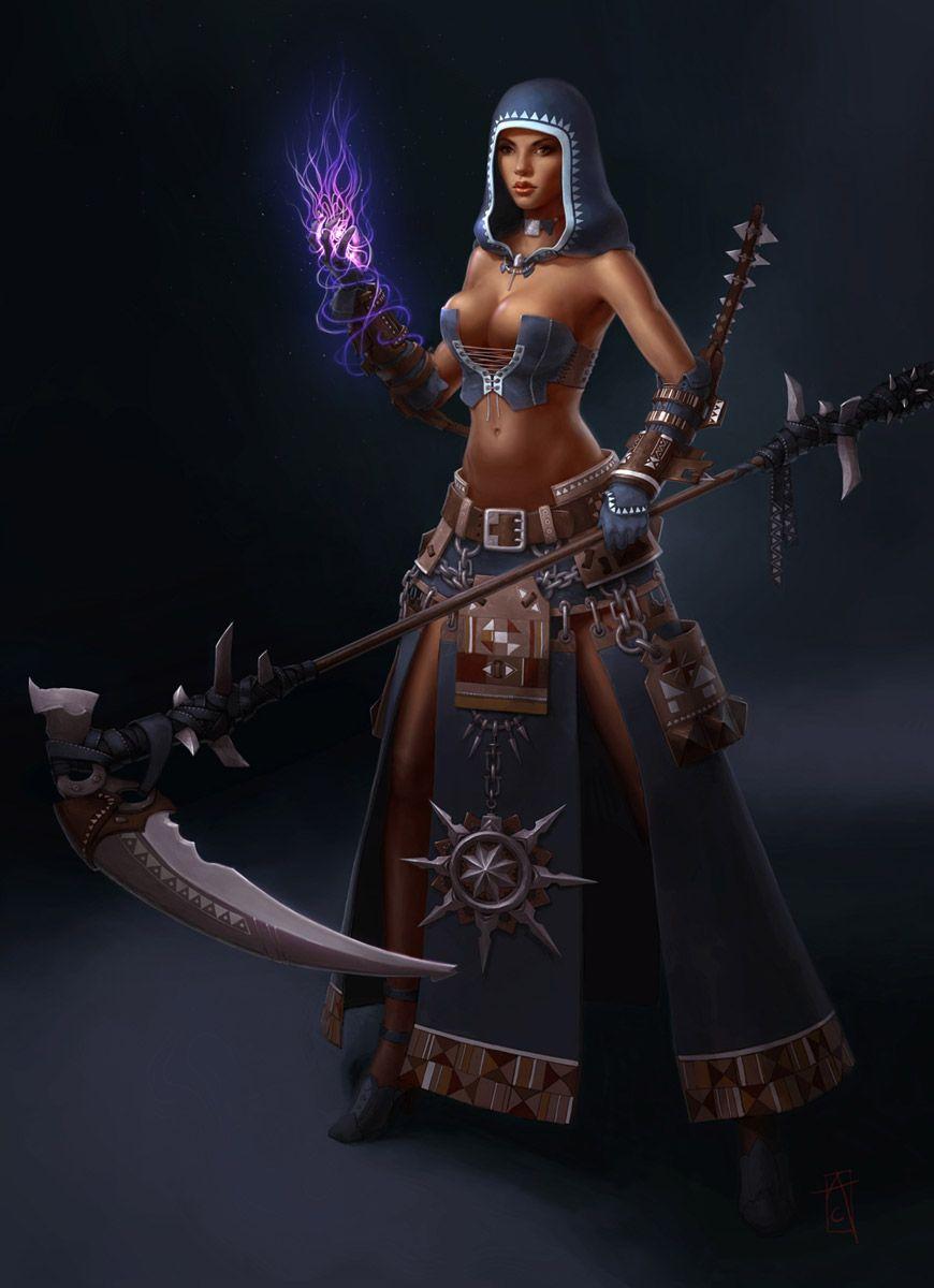 Dervish Female from Guild Wars Nightfall | Fantasy RPG