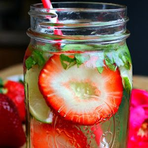 http://ift.tt/2icadKu  One question I get a lot when I post these water recipes is how often do I change out the ingredients  I find that this drink can be filled up about 3 times before I need to change out the ingredients  it really is the strawberries that cause the problem since they lose their color.  What I like best about the Stress Reducer Detox Water Recipe is that it is naturally sweet by the mint  I am a HUGE soda girl but I find that the mint quenches my sweet tooth Also this…