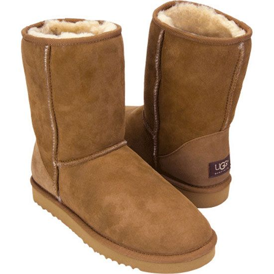 brown ugg boots short