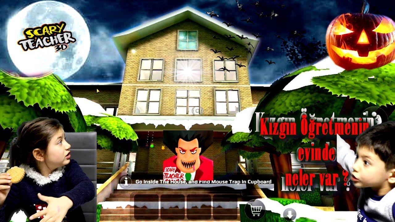 Kizgin Ogretmenin Korkunc Ve Gizemli Evi Scary Teacher 3d Oyun Evler Urkutucu Entertainment