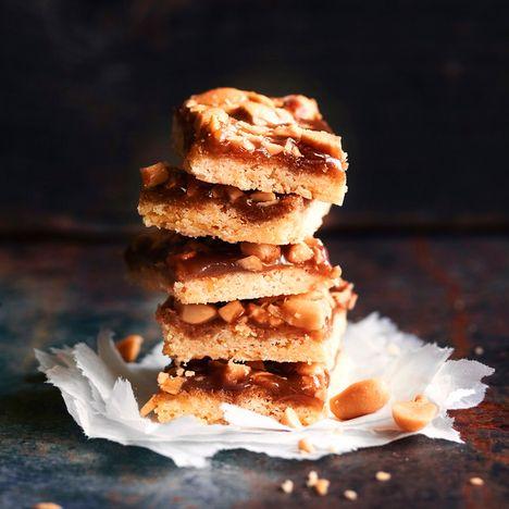 Kinuski-suolapähkinäpalat - kuin Snickersiä!