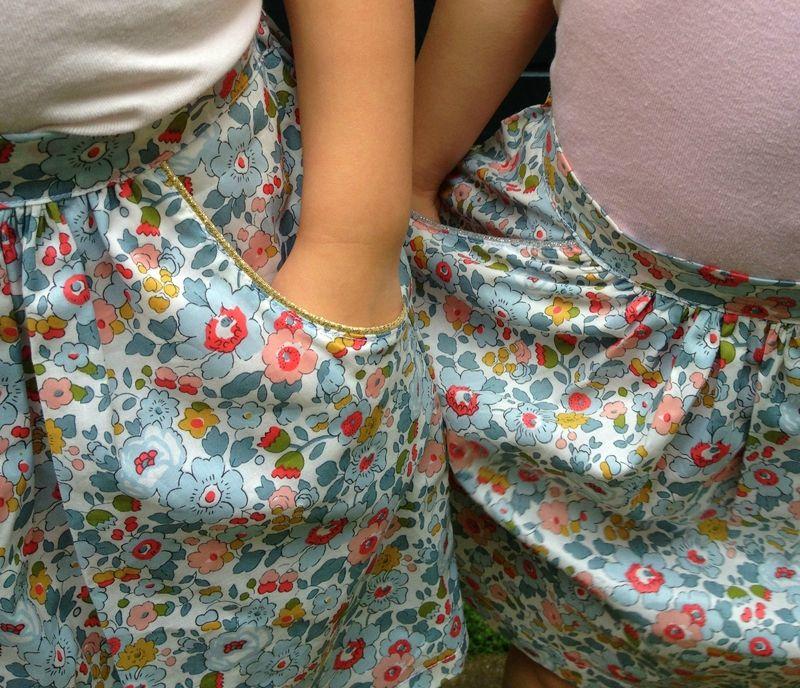 Tuto jupe lastiqu e dans le dos couture pour enfants pinterest tuto jupe le dos et jupes - Tuto jupe facile elastique ...