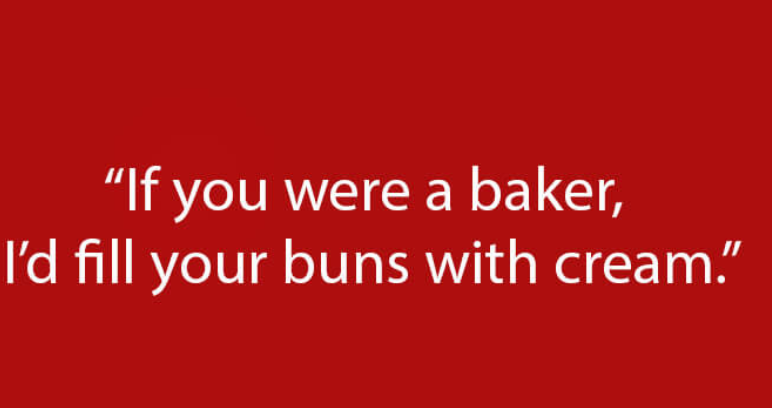 Saucy pick up lines