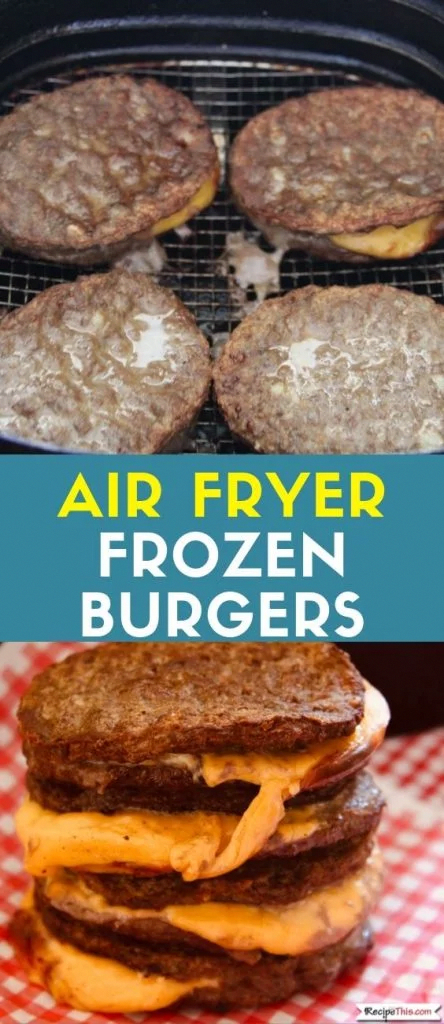 airfryer recipes for you in 2020 Frozen burger patties