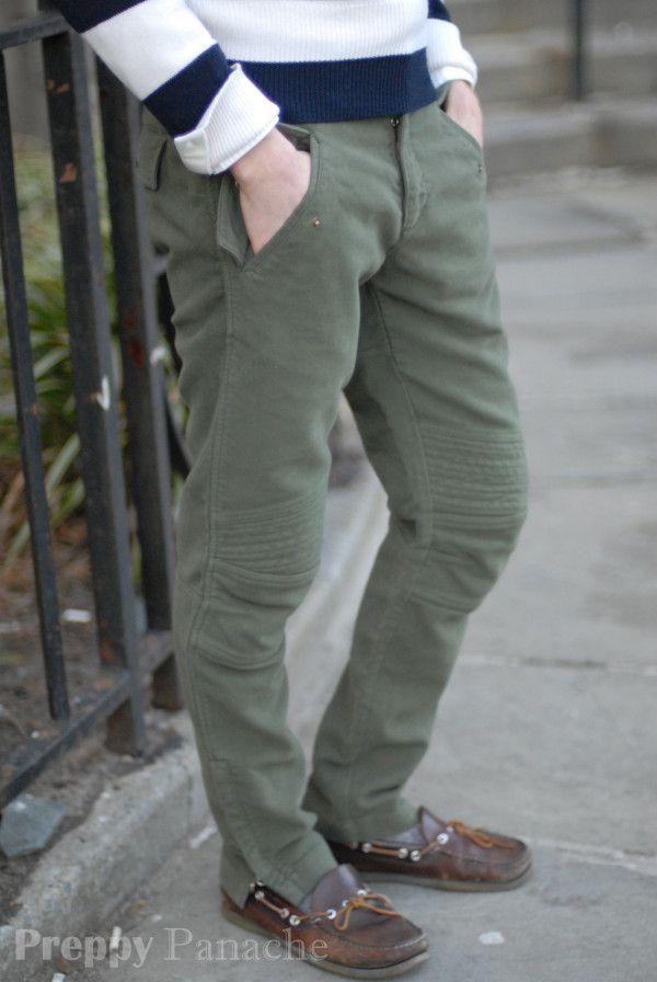 a0f2de67981 Moleskin motocross pants by Michael Bastian