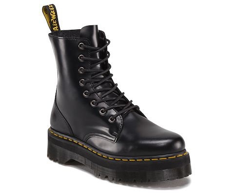 Dr Martens Black Eight Eye Jadon Boots womendr martens sandals sale saledr martens clarissa sandal black leather Official