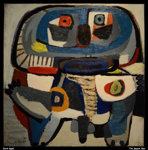 Karel Appel The Square Man Jpb In 2020 Mid Century Art Dutch Artists Artists Guide