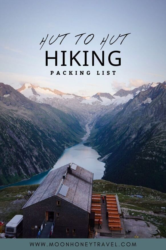 Complete Hut To Hut Hiking Packing List In 2020