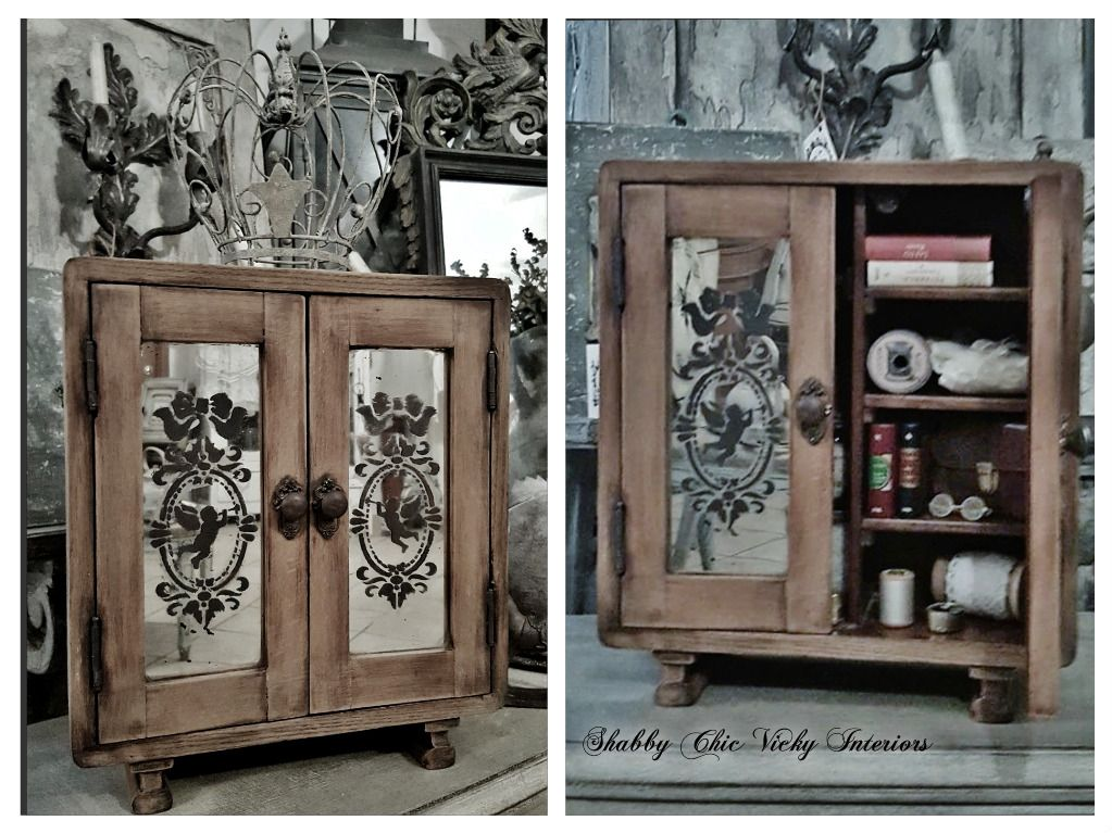 Armadio Shabby Chic On Line : Restyling armadio bambole shabby chic vicky interiors shabby chic