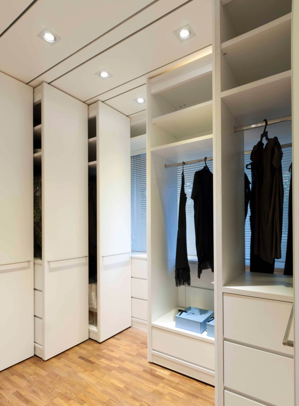 Space Saving Pull Out Wardrobe 2nd Angle Home Modern Closet Closet Designs