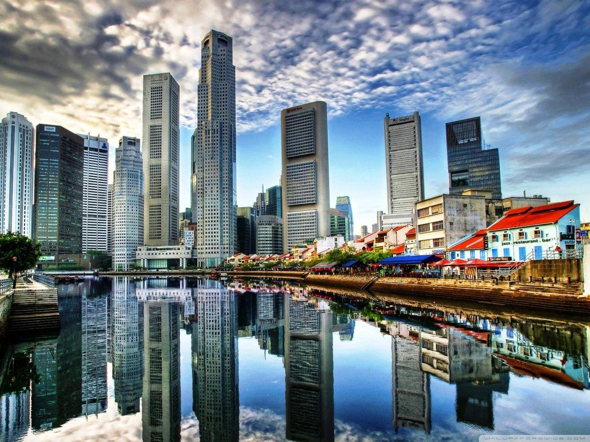 Singapore City HD desktop wallpaper High Definition