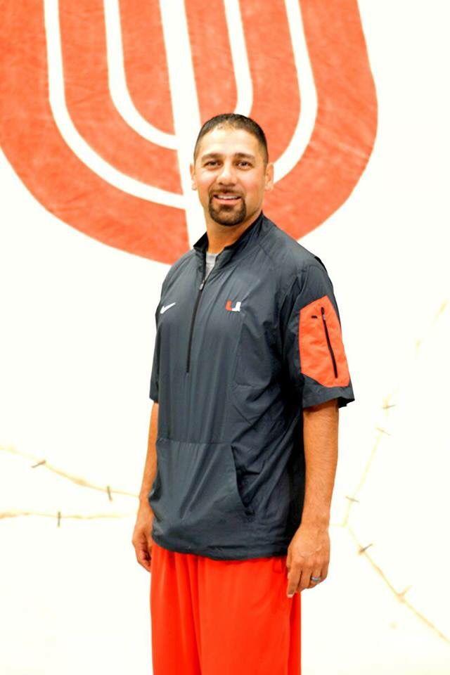 Coach Ernie Trujillo is starting his fourth