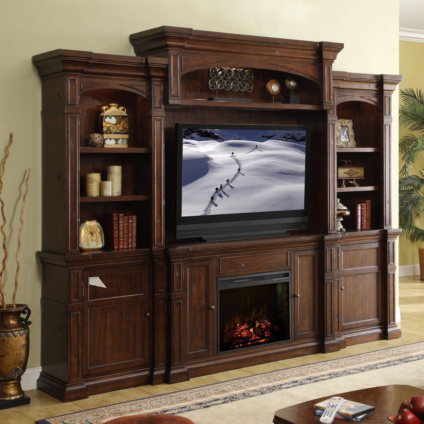 3365 best electric fireplaces entertainment centers images on