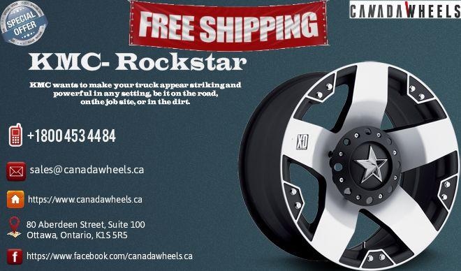 Kmc Rockstar Black Wheels Canada Wheels Pinterest Black Wheels
