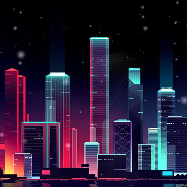 Neon Skyline Wallpaper Engine Free Live Wallpaper For Pc Live Wallpapers Wallpaper Pc