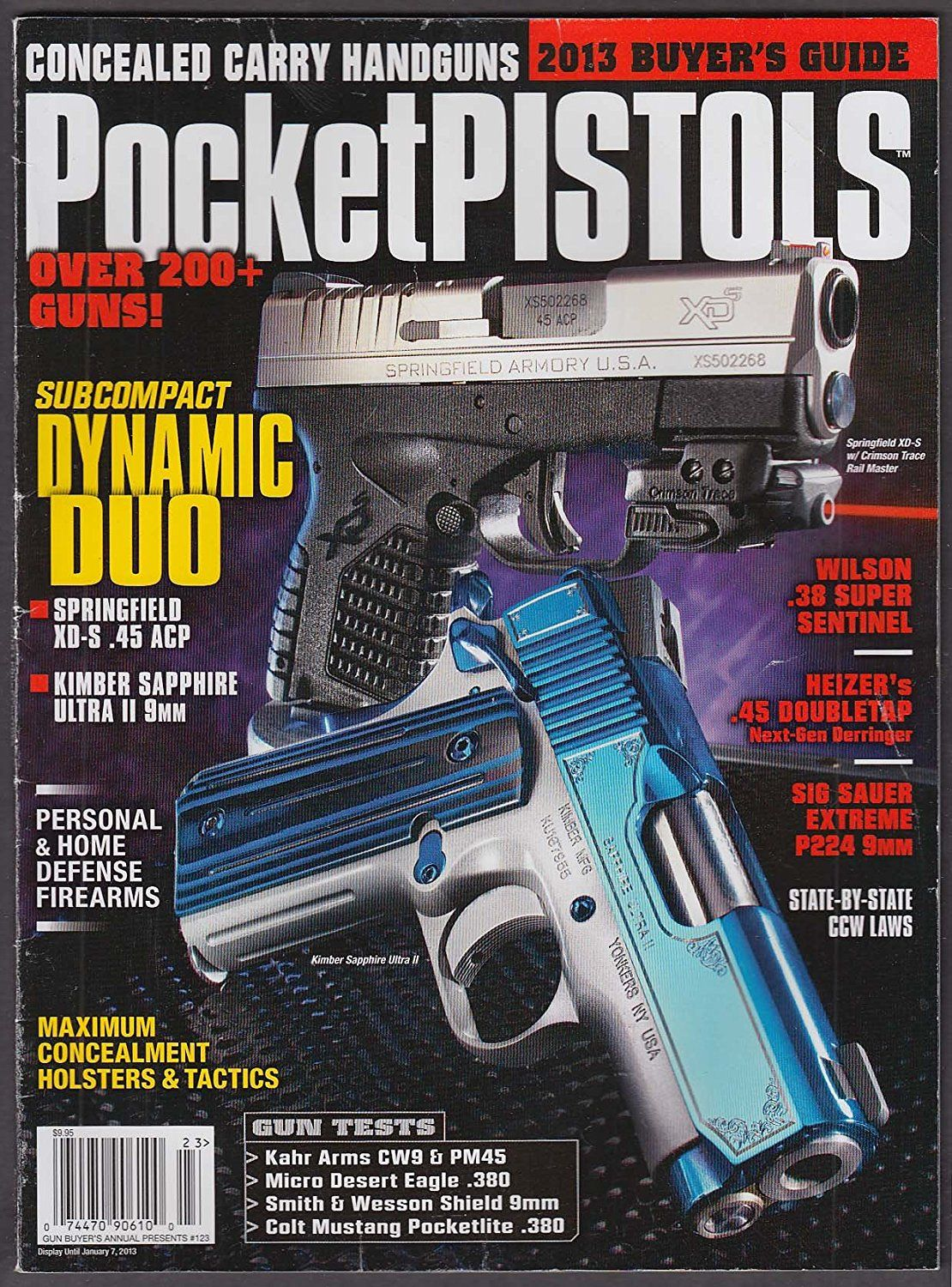 pocket pistols 2013 buyer s guide springfield xd s kimber sapphire rh pinterest com Central Wisconsin Buyer's Guide Stevens Point Buyer's Guide