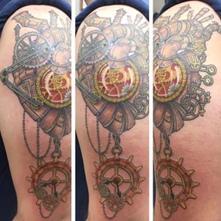 steampunk tattoos - Google Search