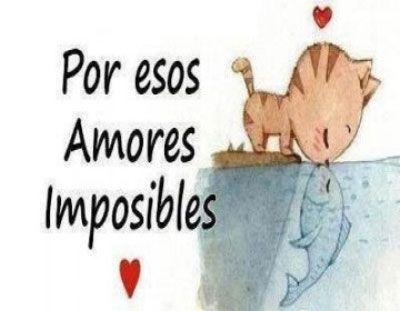 Amor Platonico No Imposibles Mi Amor Platonico N Pinterest