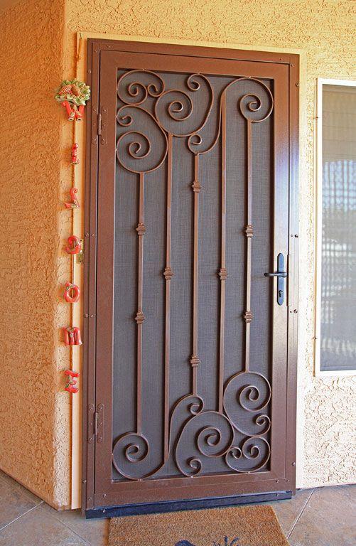 Napa Asym First Impression Security Doors Diseno De Puerta De Hierro Puertas De Entrada De Metal Disenos De Puertas Metalicas