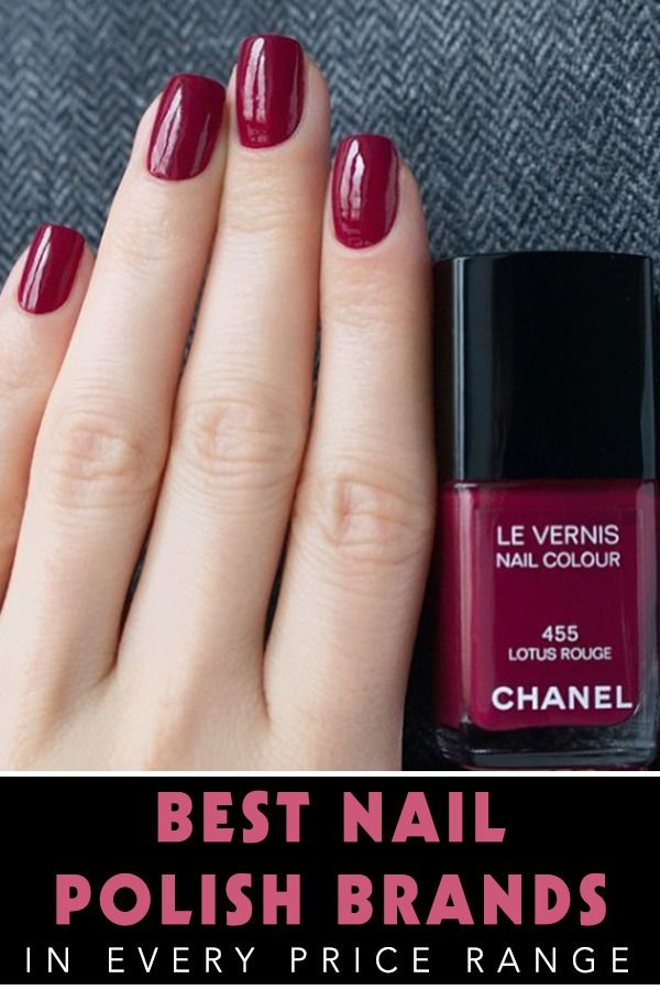 The Best Nail Polish Brands at Every Price Point | Nail polish ...