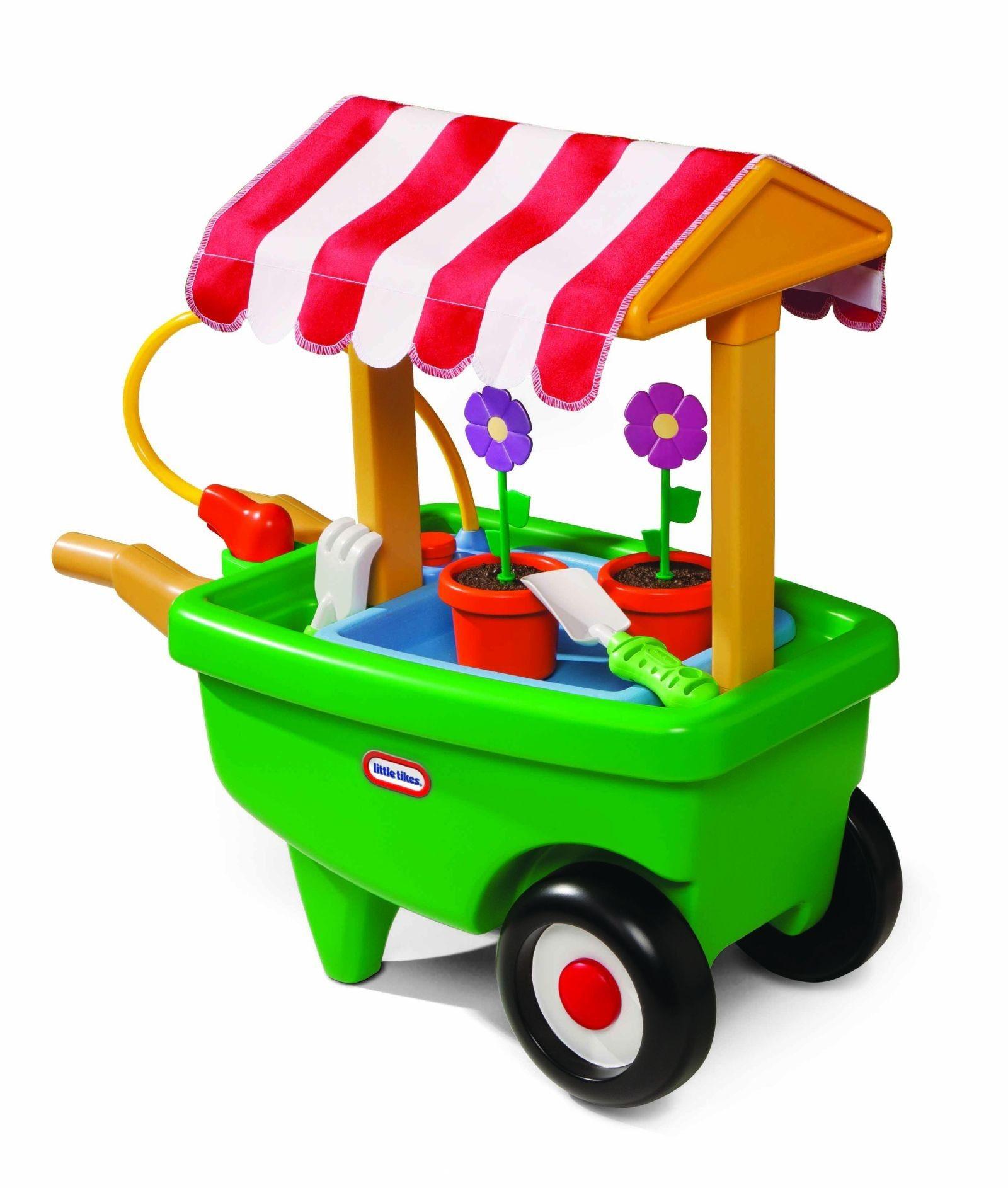 Little Tikes 8-in-8 Garden Cart and Wheelbarrow & Reviews