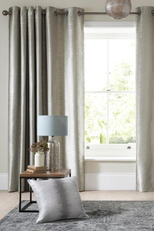 Buy Luxe Metallic Ikat Stripe Eyelet Curtains Online Today At Next Rep Of Ireland