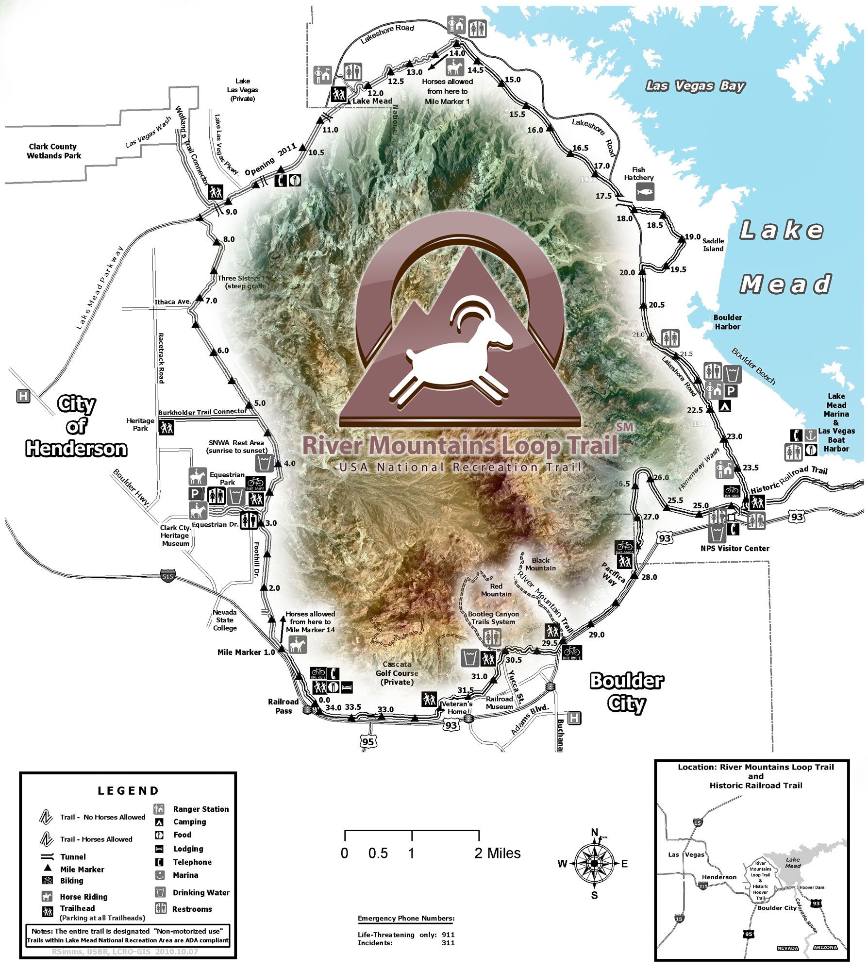 Trailheads And Maps