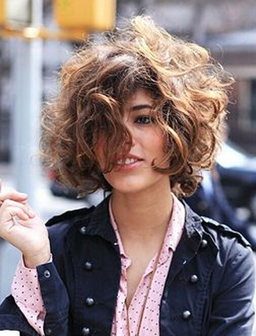 12 Messy Short Hair For Pretty Girls Ladies HairstylesShort Curly