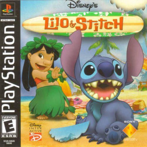 Complete Lilo Stitch Ps1 Game Lilo Stitch Playstation Stitch
