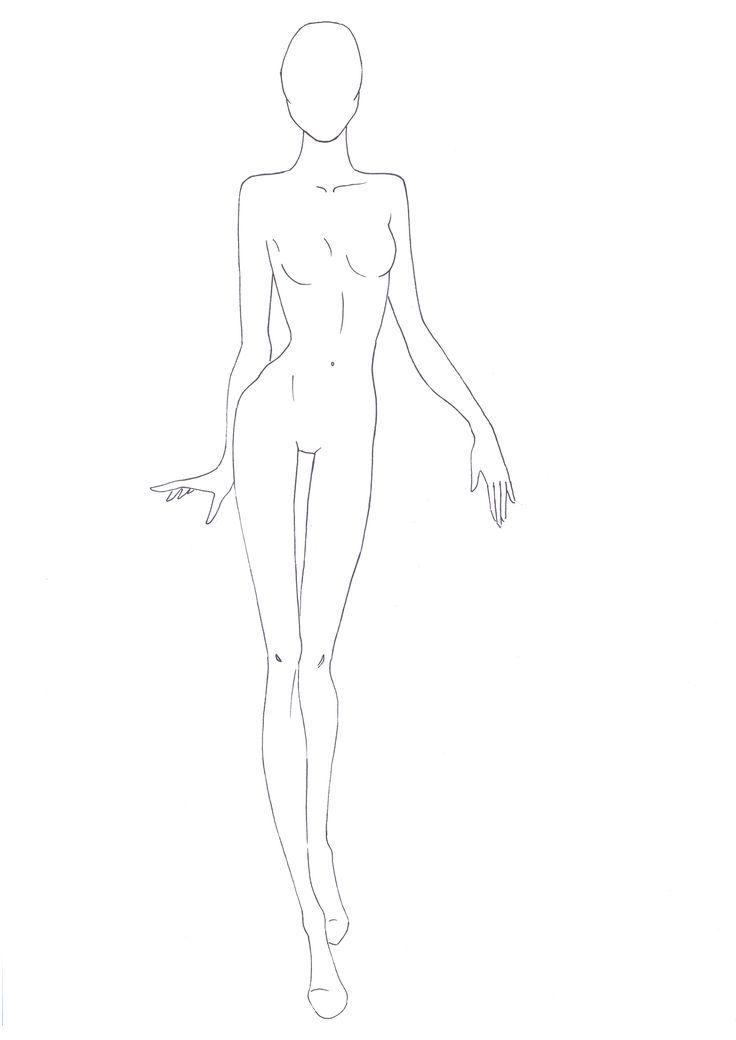 figure-template-20-outlinejpg 1,654×2,339 pixels Fashion Design - fashion designer templates