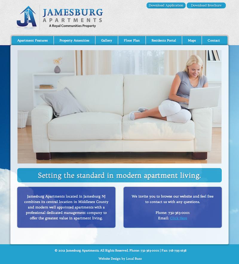 apartment website design. Apartment Web Design / Shades Of Blue Website Color Scheme Clean, Relaxing,