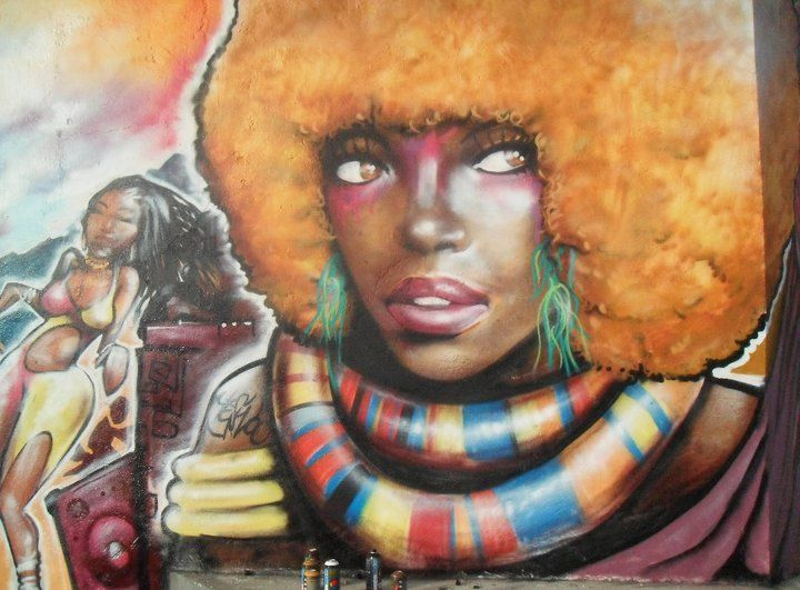 Red Afro -Yeswoo Dini with The-art of Tara -Studios and Darren Ferrell