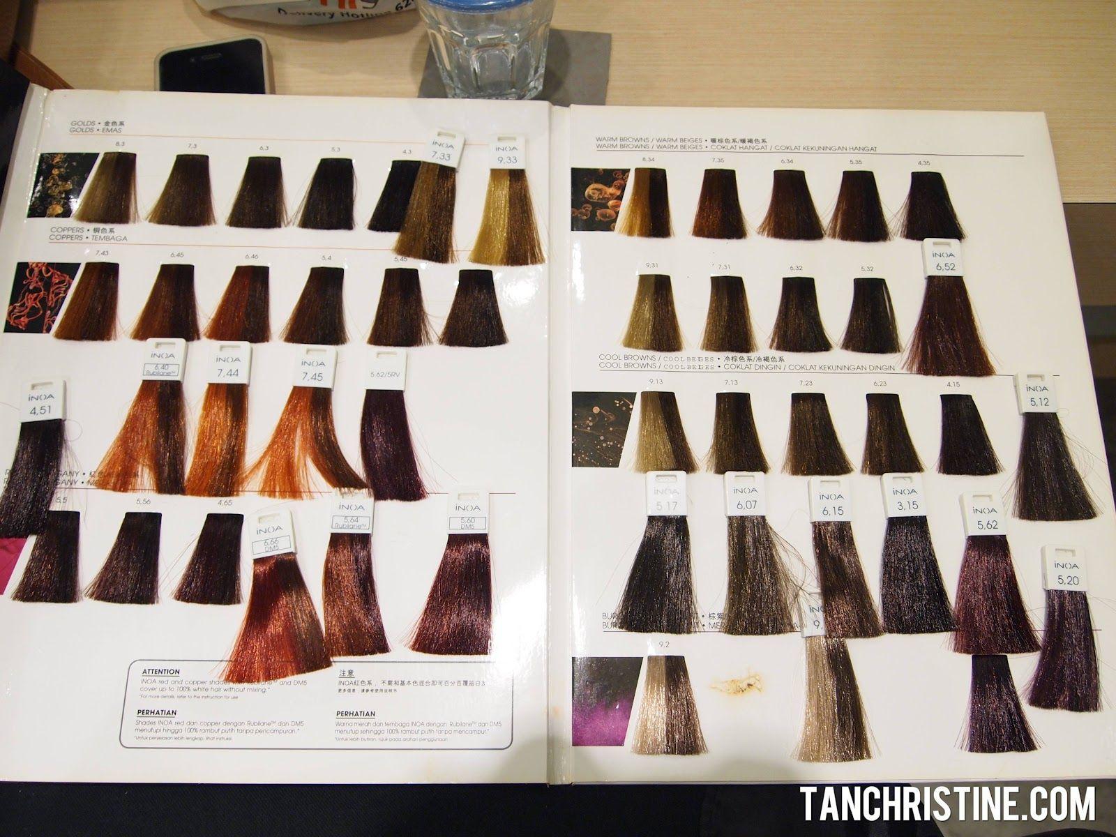 Loreal Inoa Supreme Color Chart Buy Loreal Inoa Supreme Age In 2020 Goldwell Color Chart Hair Color Chart Brown Hair Color Chart