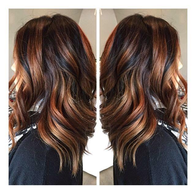 Pinwheel Hair Color Technique 3 Colors More