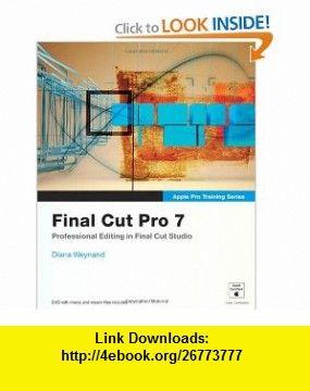 Final Cut Pro X Diana Weynand Pdf