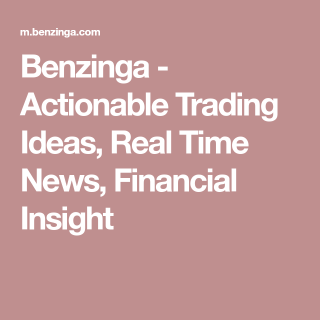 Nvda Quote Endearing Benzinga  Actionable Trading Ideas Real Time News Financial