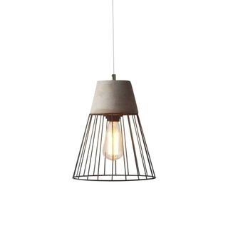 Overstock Pendant Lights Prepossessing Shop For Light Society Burgess Caged Pendant Lampget Free Shipping 2018