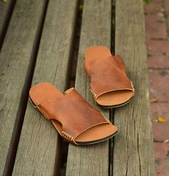 """8d18f994db77 Classic Light Brown """"Hawaiian Jandals"""" Pali Hawaii Jesus Sandals ..."""