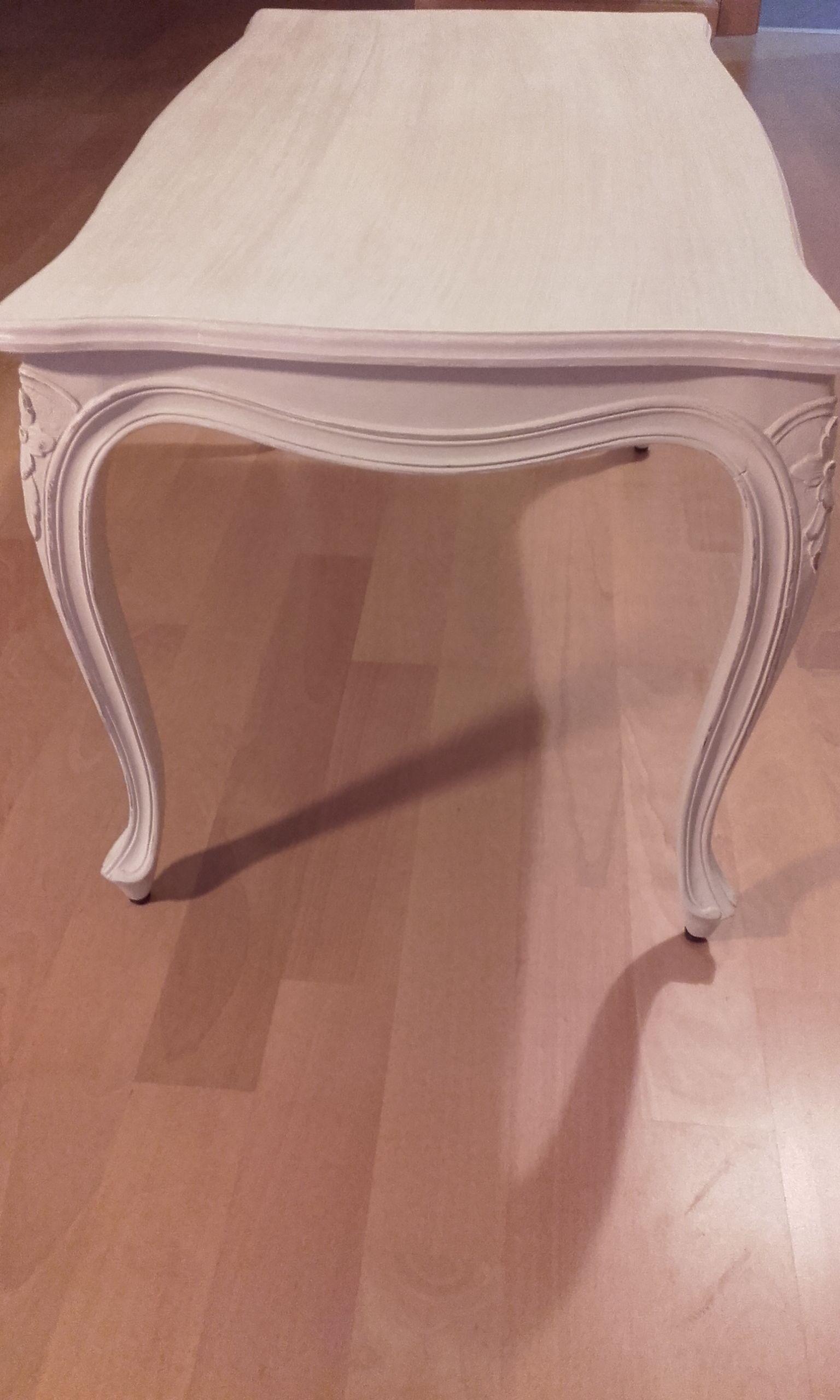 Inspiraci n vintage mesa de centro antigua restaurada en for Mesas de centro antiguas