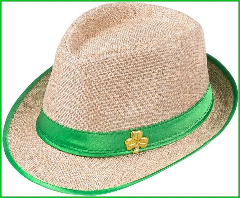 39d6e1eb0f9ca Fedora Irish Hat Saint Patrick s Day Shamrock Costume Accessory Party Decor  2018  irish  irishhat