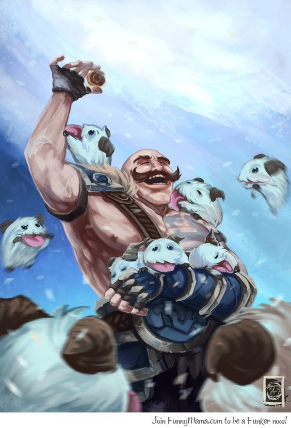Braum Is So Awesome Braum From League Of Legends Otaku