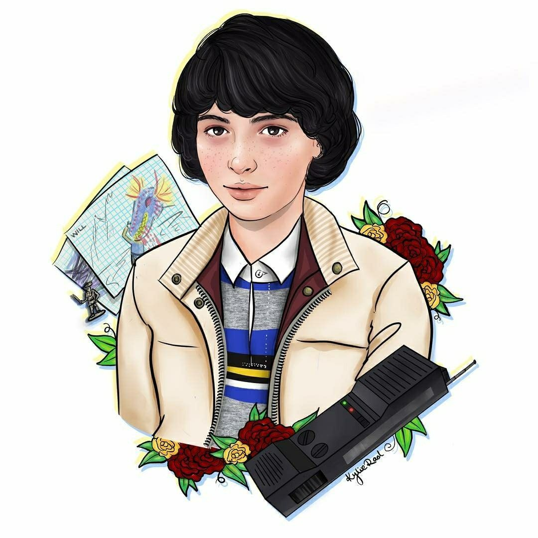 Stranger Things Mike By Kylieraddeaux Strangerthingssteve Stranger Things Art Stranger Things Mike Stranger Things Fanart