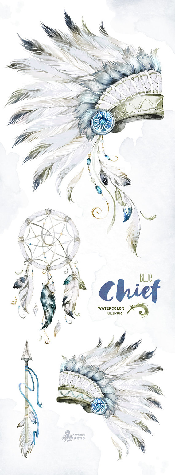 chief blue native warbonnets dreamcatcher and arrow indian arrow tattoo indian chief tattoo [ 570 x 1546 Pixel ]