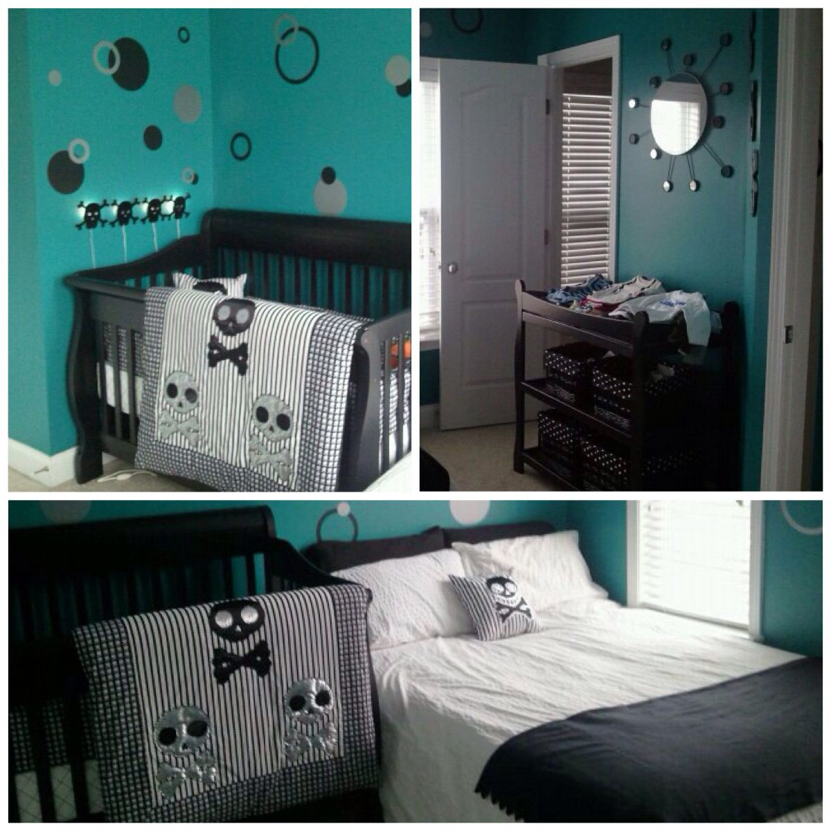 Baby Nurseries Ideas Skull Nursery