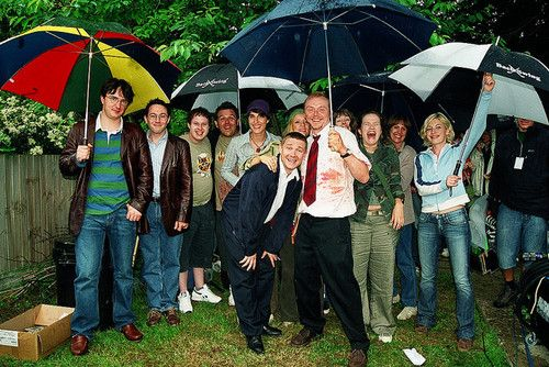 Some Cast Members Of Edgar Wright 8217 S Shaun Of The Dead 2004