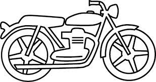 Motorcycle Clipart Black And White Google Search With Images