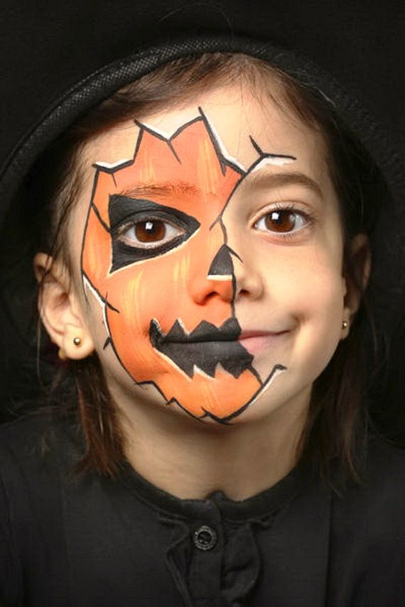 20 Kids Halloween Makeup Ideas With Images Halloween Makeup