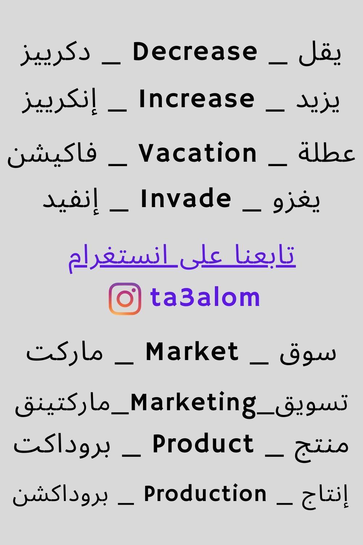 تعلم اللغة الإنجليزية للمبتدئين Learn English Words Learn English Vocabulary English Language Learning Grammar